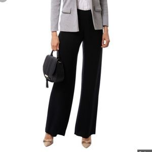Armani Collection Wider Leg Black Pants